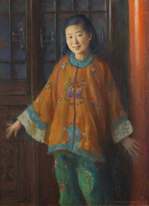 Art Prints of Liang L-Ling by Charles Courtney Curran