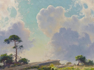 Art Prints of Morning on the Mountain by Charles Courtney Curran