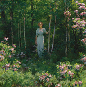 Art Prints of The Edge of the Woods by Charles Courtney Curran