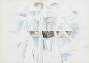Art Prints of Bermuda No. 2, the Schooner by Charles Demuth