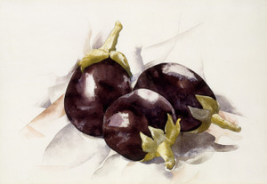 Art Prints of Eggplants by Charles Demuth