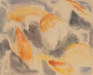 Art Prints of Fish Series No. 4 by Charles Demuth