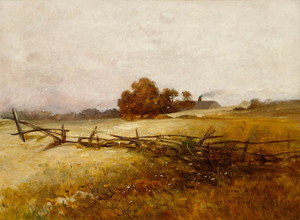 Art Prints of Autumn Landscape by Charles Ethan Porter