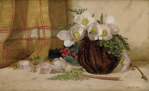 Art Prints of Still Life with Roses by Charles Ethan Porter
