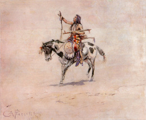 Art Prints of Peace, 1899 by Charles Marion Russell