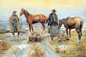 Art Prints of Tricks in All Trades by Charles Marion Russell