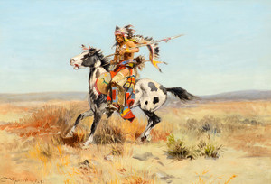Art Prints of Dakota Chief by Charles Marion Russell
