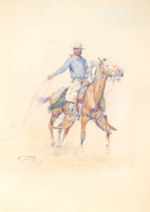 Art Prints of California Roper by Charles Marion Russell