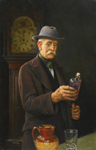Art Prints of Every Four Hours by Charles Spencelayh