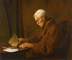 Art Prints of The Buff Envelope by Charles Spencelayh