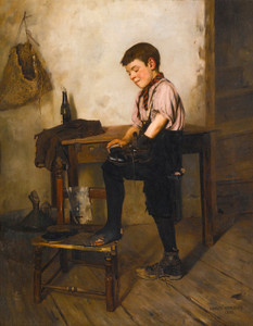 Art Prints of The Black Boot by Charles Spencelayh