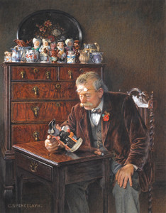 Art Prints of The Latest Addition by Charles Spencelayh