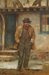 Art Prints of The Pensioner by Charles Spencelayh