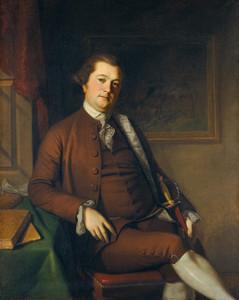 Art Prints of John Philip de Haas by Charles Willson Peale