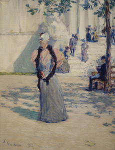 Art Prints of Figures in Sunlight by Childe Hassam