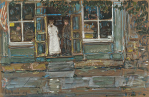 Art Prints of Grocery Store, Phoenecia by Childe Hassam