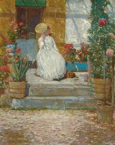 Art Prints of In the Sun by Childe Hassam