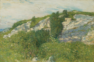 Art Prints of Ledges and Bay, Appledore by Childe Hassam