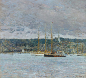 Art Prints of Newport by Childe Hassam