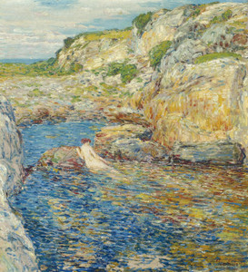 Art Prints of Rockweed Pool by Childe Hassam