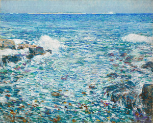 Art Prints of Surf, Isle of Shoals by Childe Hassam