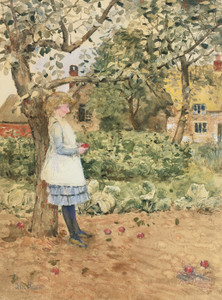 Art Prints of The Little Philosopher by Childe Hassam