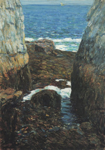 Art Prints of The North Gorge Appledore, Isles of Shoals by Childe Hassam