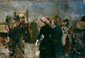 Art Prints of Albertine by Christian Krohg