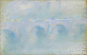 Art Prints of Waterloo Bridge by Claude Monet