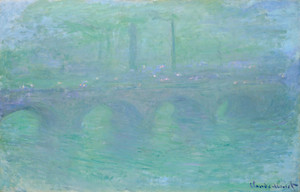 Art Prints of Waterloo Bridge London at Dusk by Claude Monet