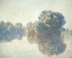 Art Prints of The Seine at Giverny by Claude Monet