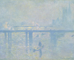 Art Prints of Charing Cross Bridge II by Claude Monet
