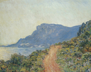 Art Prints of La Corniche near Monaco by Claude Monet