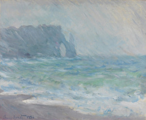 Art Prints of Regnvaer, Etretat by Claude Monet