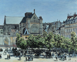 Art Prints of Saint-Germain-l'Auxerrois, Paris by Claude Monet