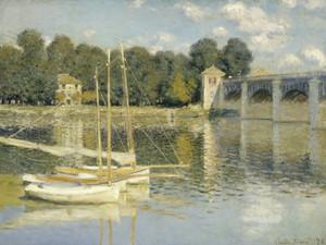 Art Prints of The Argenteuil Bridge by Claude Monet