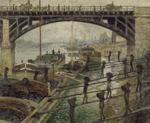 Art Prints of The Coalmen by Claude Monet