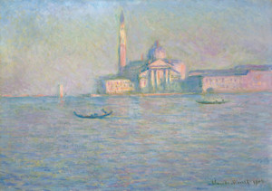 Art Prints of The Church of San Giorgio Maggiore, Venice by Claude Monet