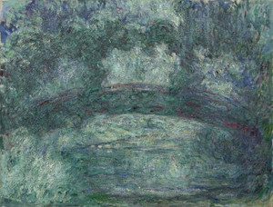 Art Prints of The Japanese Bridge, 1919 by Claude Monet