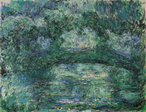 Art Prints of The Japanese Bridge by Claude Monet