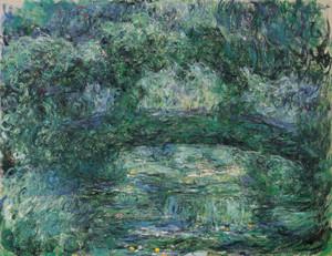 Art Prints of The Japanese Bridge by Claude Monet