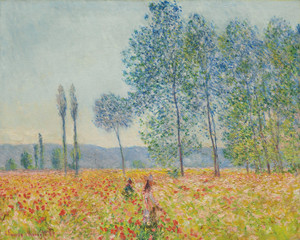 Art Prints of Under the Poplar by Claude Monet