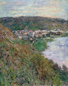 Art Prints of Vetheuil by Claude Monet
