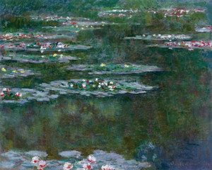 Art Prints of Waterlilies, 1904 by Claude Monet