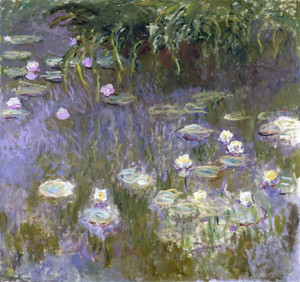Art Prints of Water Lilies, 1922 by Claude Monet