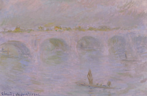 Art Prints of Waterloo Bridge in London by Claude Monet