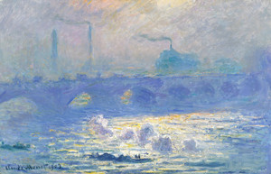 Art Prints of Waterloo Bridge II by Claude Monet