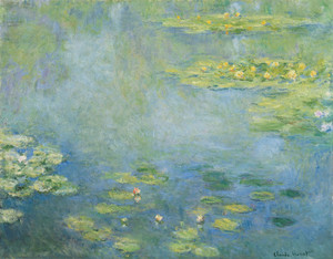 Art Prints of Waterlilies, 1906 by Claude Monet