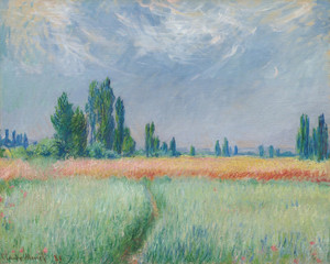 Art Prints of Weizenfeld by Claude Monet