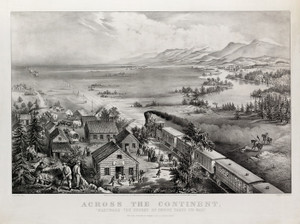 Art Prints of Across the Continent, Course of Empire Takes Its Way by Currier & Ives